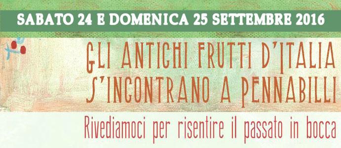 Gli Antichi Frutti d'Italia s'Incontrano a Pennabilli