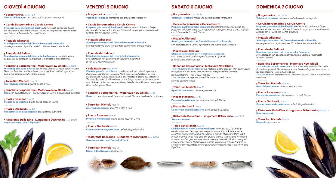 Cervia A Tutto Gusto Con Cozze E Pesce In Festa