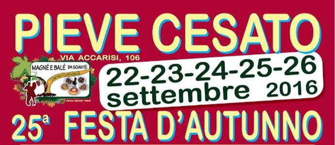 Festa d'Autunno, Pieve Cesato