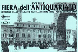 Fiera dell'antiquariato a Forlì