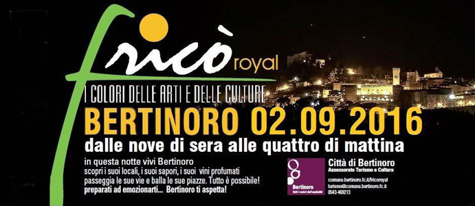 90^ Festa dell'Ospitalità e Fricò Royal, Bertinoro