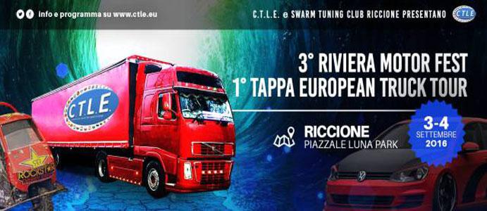 3° Riviera Motor Fest & 1° Tappa European Truck Tour, Riccione